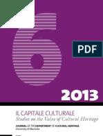 Il Capitale Culturale 6 (2013)