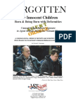 Agent Orange and Children Latest Chronology