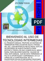 Manual Calentador Solar Termosifon Nuevo Papantla