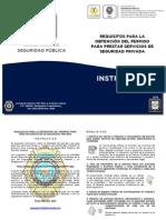 Requisitos Para La Obtención Del Permiso Para Prestar Servicios de Seguridad Privada