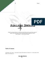 Adalaya Dreams Game Proposal