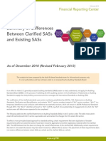 Clarity Sas Summary of Differences