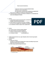 Primer Examen de Geotectónica