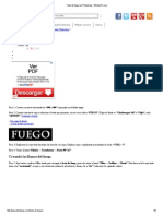 Texto de Fuego en Photoshop - EfectosPs