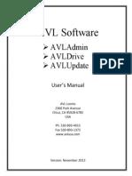 AVLSoftware User Manual
