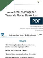 Fabricação Montagem e Teste Das Placas Elet DIG