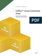 Celltox Green Cytotoxicity Assay Protocol