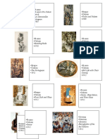 Art History Sheet 1 Test 2