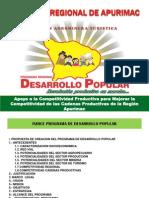 Procompite Exposicion Programa Desarrollo Popular y Proceso de Procompite