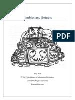 IT386 Zombies and Botnets Paper Sang Tran