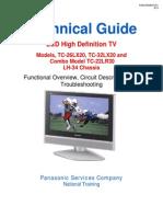 Tv Panasonic TC 26LX20 TC 32LX20 TC 22LR30 Chassis LH 34 LCD Tv Training Manual
