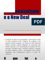 O Keynesianismo e o New Deal.pptx