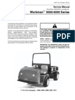 Toro Workman Service Manual