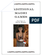 Traditional Maori Games