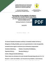 Col.Tan; Plan de evaluaciones por medio de Geofísica de Pozos; occidente del estado Bolívar, Venezuela