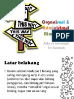 PPT Organisasi Bimbingan konseling