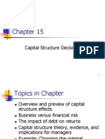 california pizza kitchen capital structure leverage
