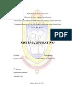 sistemas operativos informe