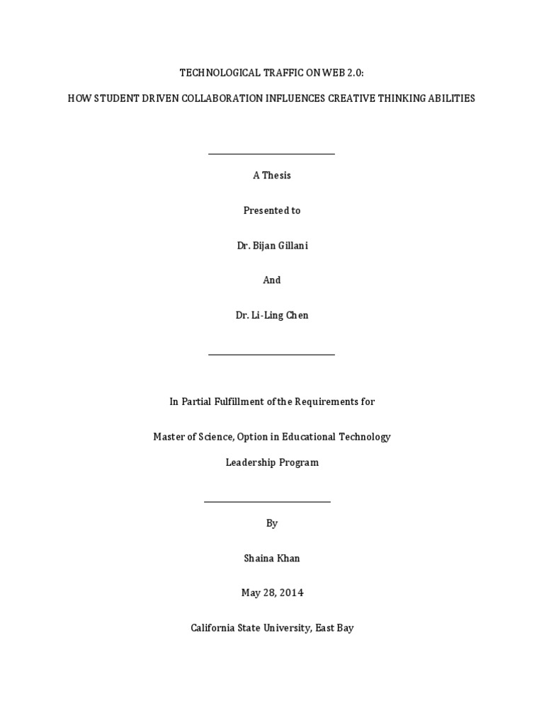 Master thesis available