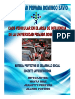 Proy. ''Caos Vehicular en UPDS''