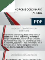 Clase Sindrome Coronario Agudo
