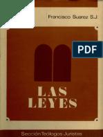 Francisco Suarez - Las Leyes - Libro IV - espanhol