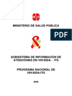 Sistema de Informacion VIH 2008