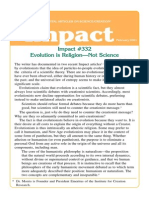 Evolution is Religion-Not Science