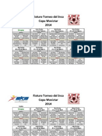Fixture 2014