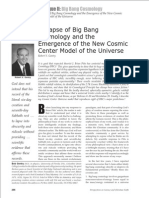 Perspectives 2004 Collapse of Big Bang