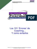 101 Errores de Coaching y Como Evitarlos (1)