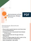 Osteoporosis in Post-Menopausal Women.pptx