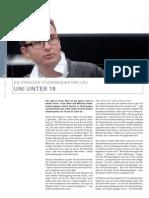UniMagazin LMU- Artikel Jüngster Student