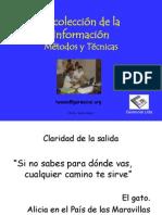Metodos y Tecnicas de Recolección de La Información