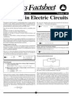 Energy in Electric Circuits