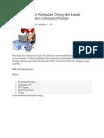 Cara Mematikan Komputer Orang Lain Lewat Jaringan LAN Dan Command Prompt