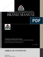University of the Philippines Diliman University Student Council Brand Manual