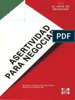 Asertividad Para Negociar - Mauro Rodríguez Estrada.pdf