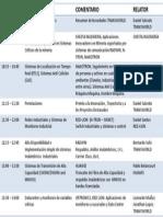Agenda Detallada Evento 2013