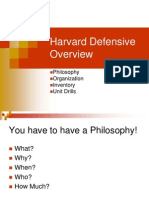 Harvard 4-3 Defensive Overview