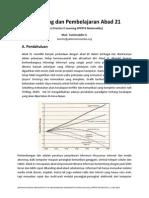 E-Learning dan Pembelajaran abad 21