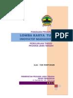 Panduan Fasilitasi Perguruan Disdik Prop 2015-Lktim