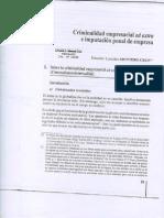 Montero Cruz - Criminalidad Empresarial Ad Extra e Imputación Penal de Empresa