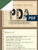 Pda (personal digital assistant)