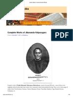 Sanskrit e Books List