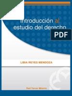 Introducción Al Estudio Del Derecho Libia Reyes Mendoza