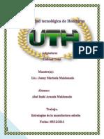 III PARCIAL Manufactura Eebelta