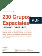 Grupos Espaciales