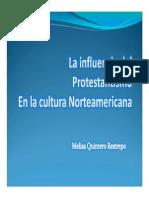Unidad 2 La Influencia Del Protestantismo - Melisa Quintero