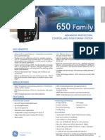650 Family (GE digital Energy)
